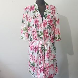 Show Me Your MuMu Floral Robe Coverup